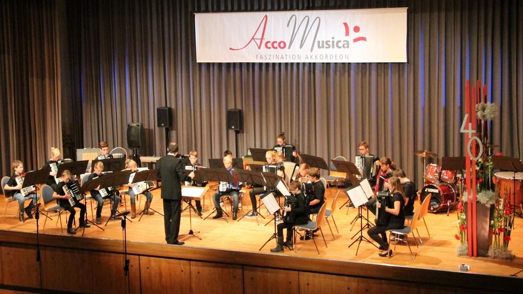 Das Schülerorchester von AccoMusica