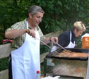 Saftige Steaks vom AccoMusica-Grillmeister