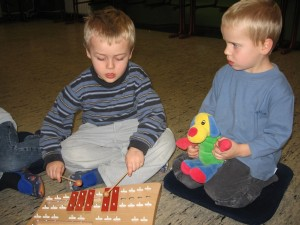 Rhythmisch-Musikalische Früherziehung