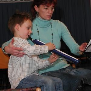 Melodica-Unterricht mit Christiane Becker