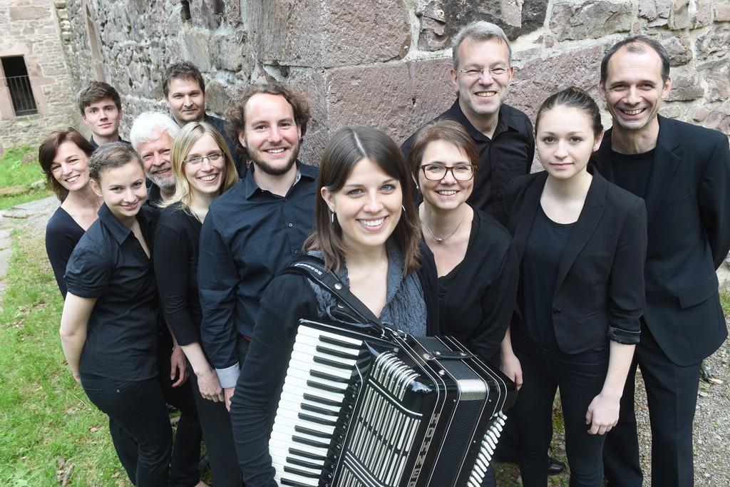 Das 1. Orchester 2014