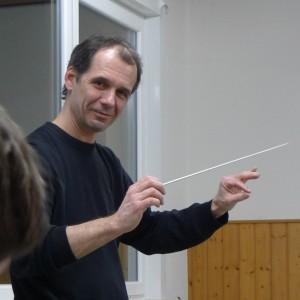 Uwe Müller, Akkordeonlehrer und Dirigent