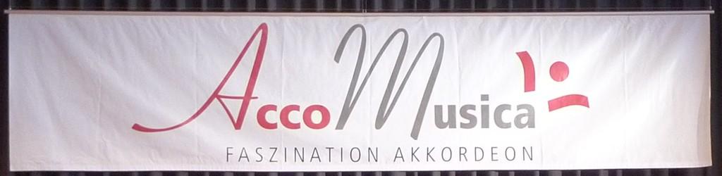 Unser Banner mit dem AccoMusica-Logo