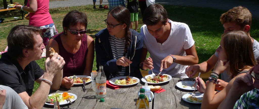 Familie Schmid schmeckt's
