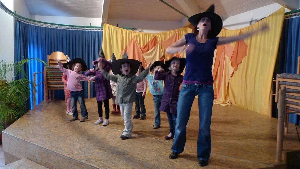 Christiane hat Spaß mit Kindern (und Kinder mit ihr)