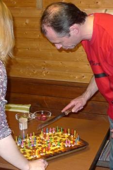 Uwe hat schnmal einen Kuchen versalten (nicht diesen, das war sein Geburtstagskuchen)