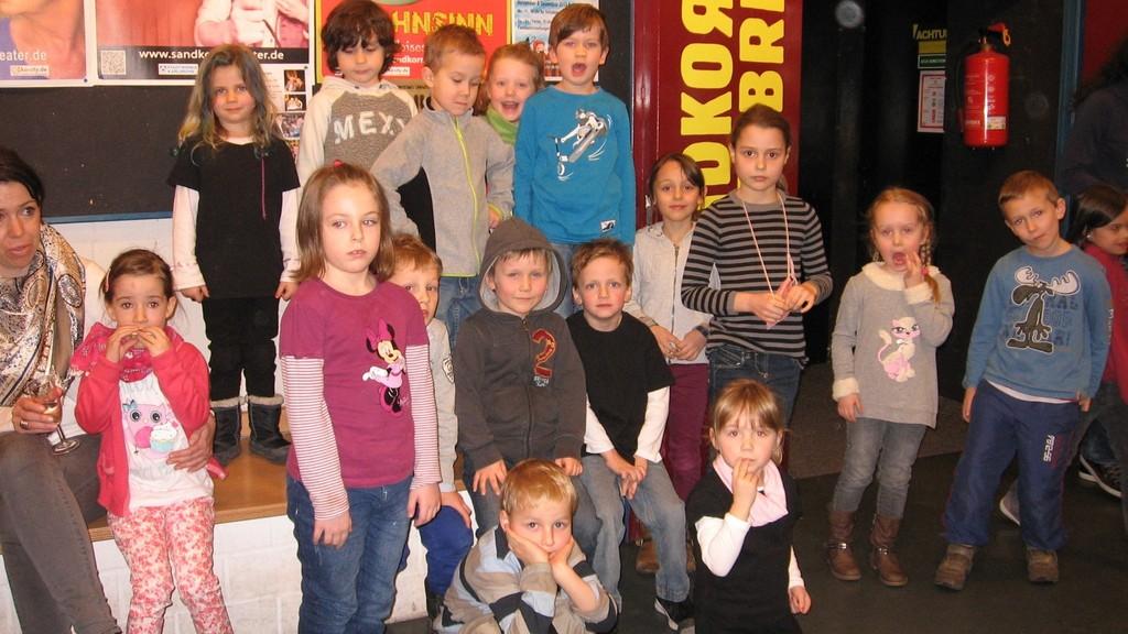 Die Melodica-Kids im Sandkorntheater Karlsruhe