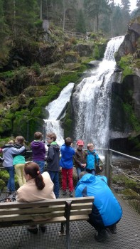 Traumhafte Kulisse: Die Triberger Wasserfälle