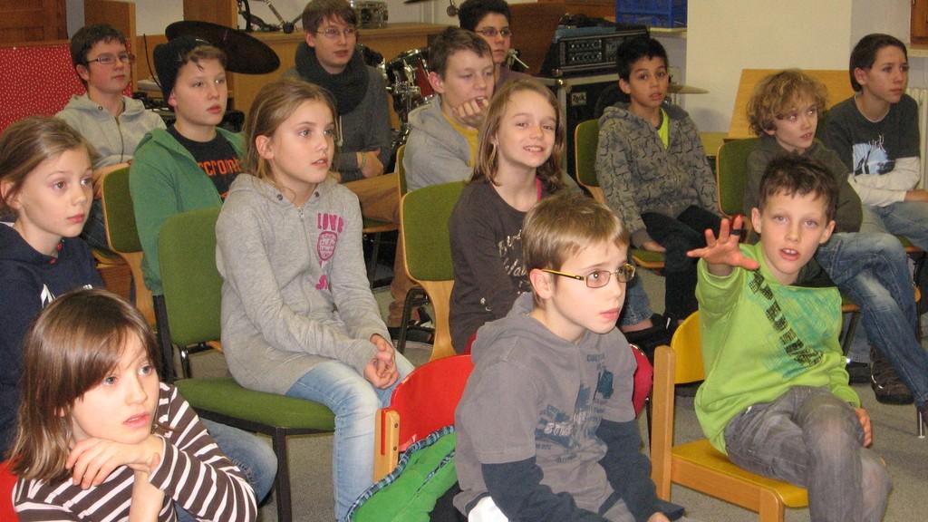 Teilnehmer bei der Jugendversammlung der AkkoKids