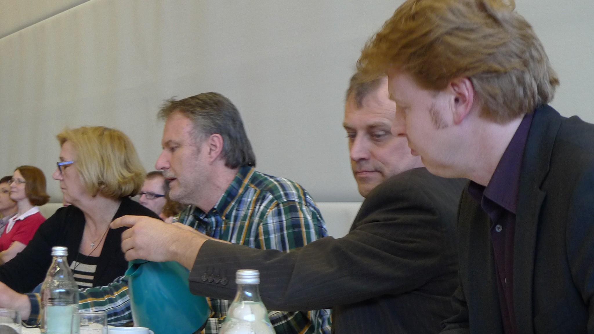Wolfgang Pfeffer in der Jury beim Waldbronner Musikpreis 2013