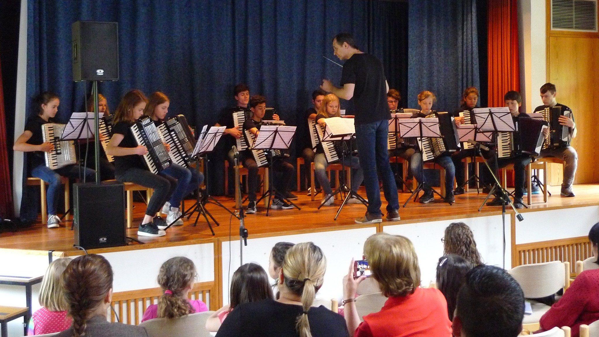Vorspiel des Jugendorchesters