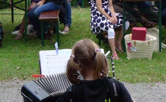 Aufregend: Schülervorspiel vor großem Publikum
