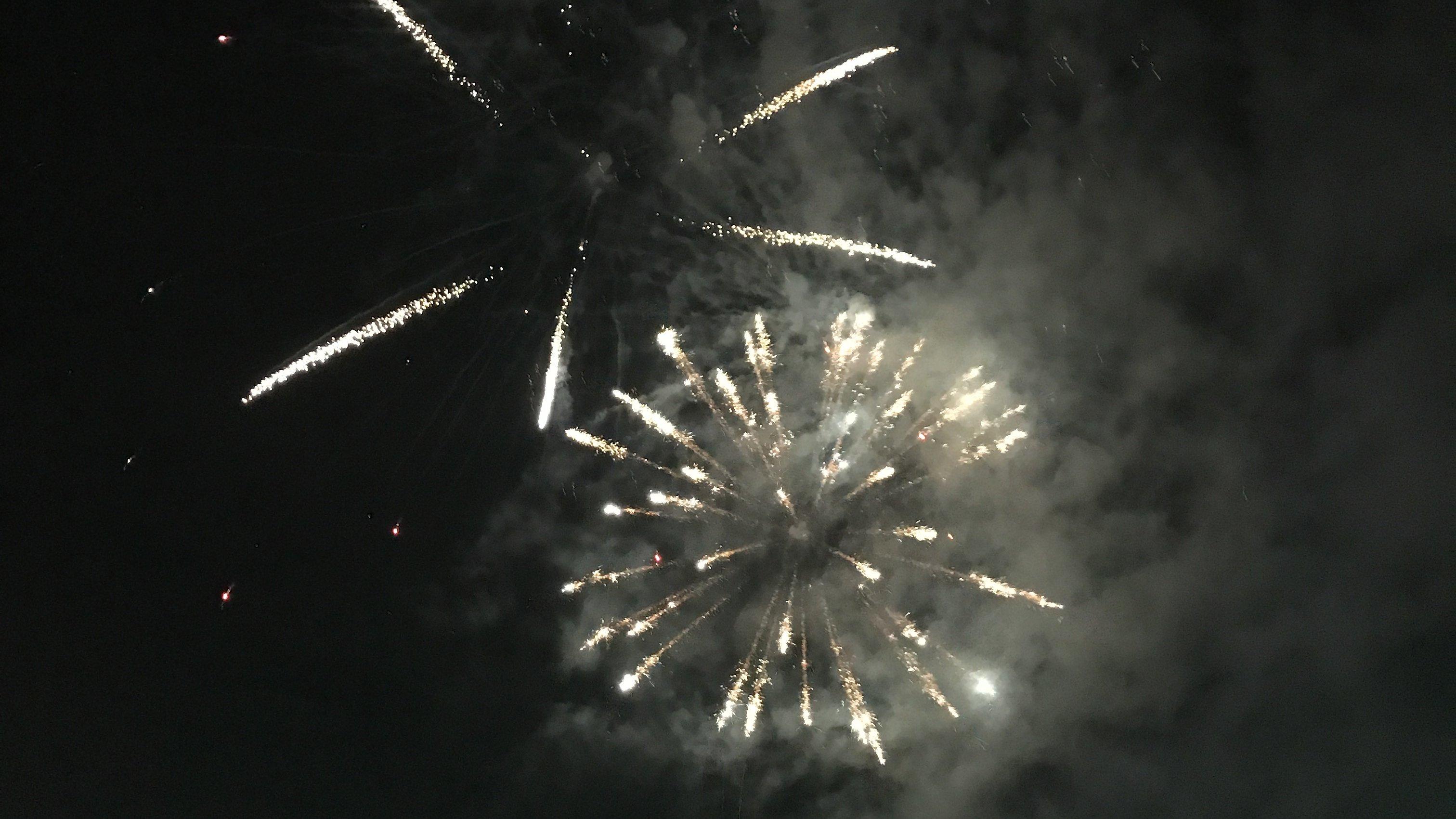 Feuerwerk Kurparkfest 2017