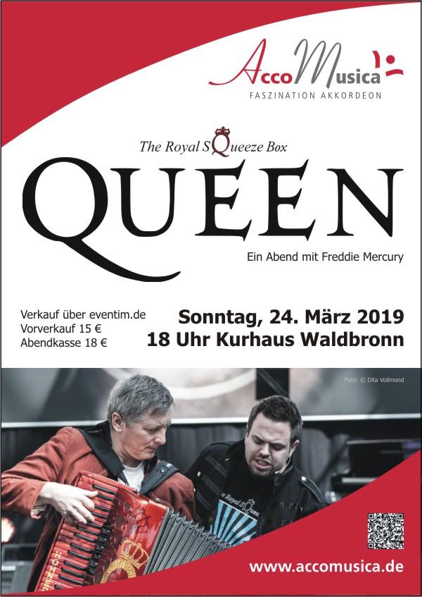 QUEEN - Ein Abend mit Freddie Mercury