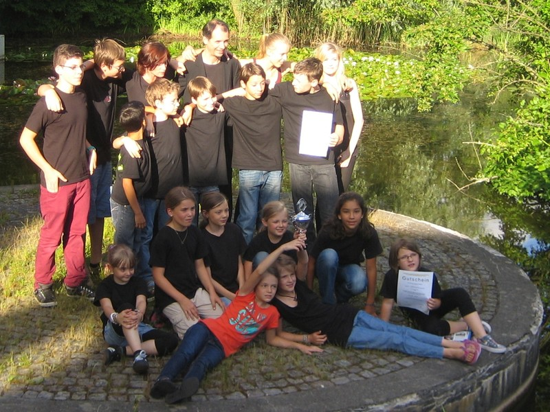 Schülerorchester beim Akkordeon-Landesjugend-Wettbewerb