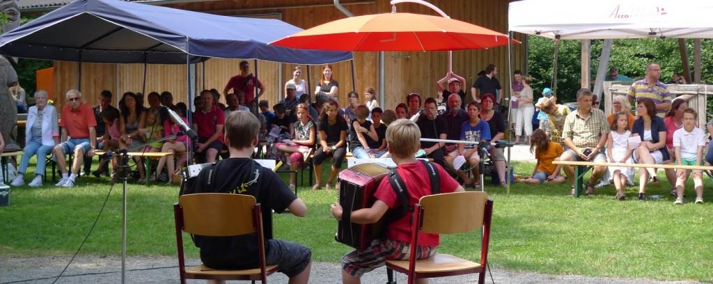 Matinee im Grünen - Schülervorspiel bei AccoMusica unter freiem Himmel