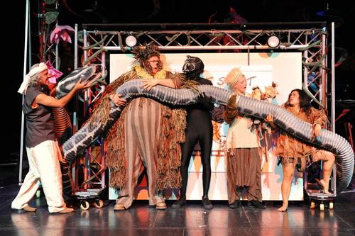 Das Dschungelbuch im Badischen Staatstheater. Foto: Jochen Klenk