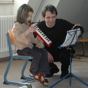 Melodica-Unterricht mit Uwe Müller