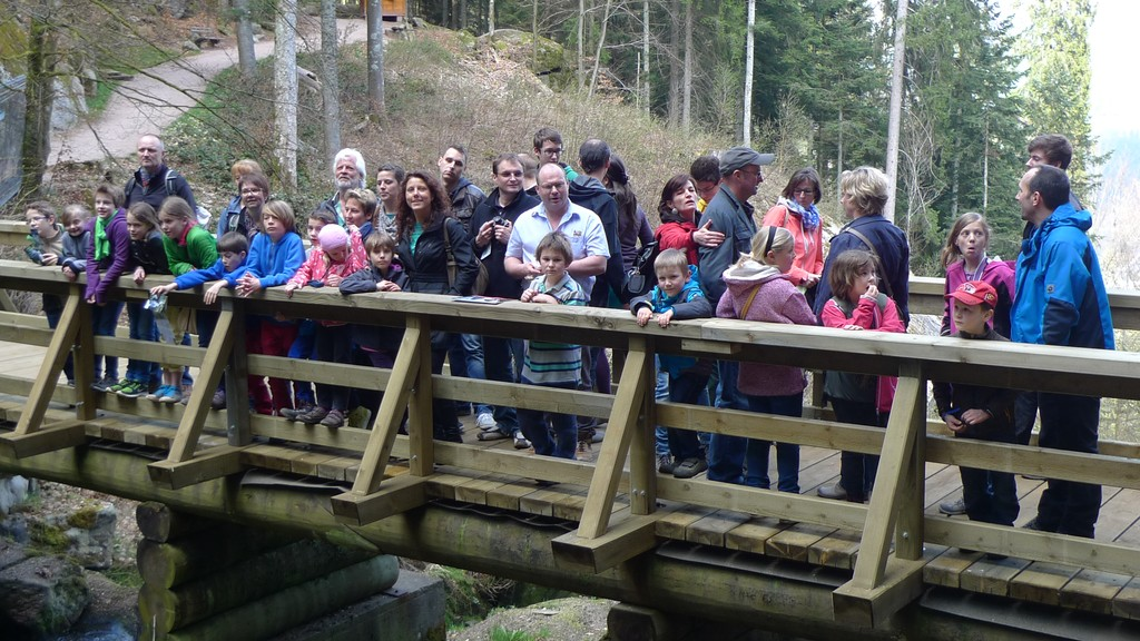 Gruppenbild der Akkordeonisten aus Karlsbad und Waldbronn