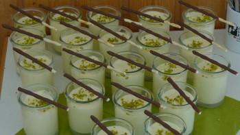 Super Verpflegung - hier ein Ausschnitt vom Dessert-Buffet