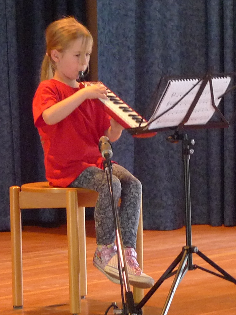 Vorspiel auf der Melodica